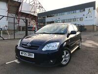 2005 Toyota Corolla 1.6 T3 VVTi, Metallic Navy Blue, mot till april 2018, 5 door hatchback, bargain!