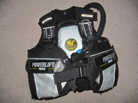Diving Equip - Drysuit, BCD, Fins, Hangers, ankle weights
