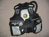 Diving Equip - Drysuit, BCD, Cylinders, Fins, Lead shot, ankle weights