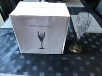 Royal Doulton wine flutes