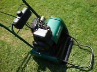 Qualcast Classic Petrol 35s Lawn Mower With Roller