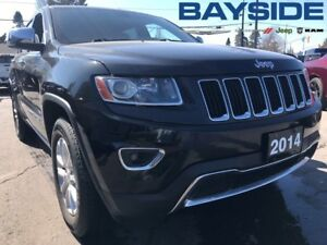 2014 Jeep Grand Cherokee Limited |MOONROOF | BLUETOOTH | 4x4