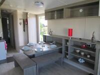 2 year old Caravan at Craigtara for sale. 6 berth with double bed in livingroom (extra). .