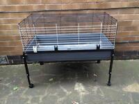 Indoor Cage & Stand for Sale or Swap