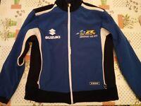 Suzuki Team GSXR 25th Anniversary Adult Jacket,Fleece Size M