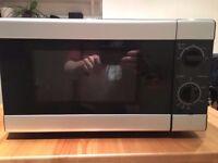 Microwave, 17L - Black & Silver - Excellent condition