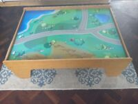 Children's play table for cars and dolls etc