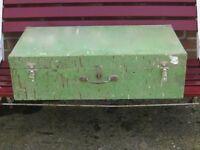 Old pine tool box