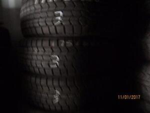 175/60R16 4 MATCHING USED DUNLOP[ SNOW TIRES