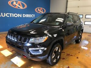 2018 Jeep Compass Trailhawk NAVI! SUNROOF! LEATHER! 4X4!