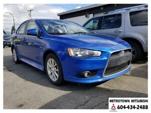 2015 Mitsubishi Lancer SE LTD; Local vehicle!