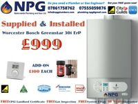 Worcester Bosch Greenstar 30i ErP Combi Boiler SUPPLIED & FITTED Fom £999 (50%OFF £4K) Staffordshire