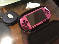Psp 1003 pink console and games bundle