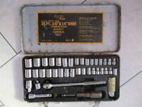 Kyoto boxed combination socket wrench set