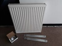 DOUBLE-PANEL CONVECTOR RADIATOR 700 X 600MM WHITE