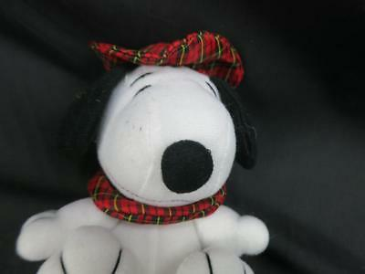 SHERLOCK HOLMES DETECTIVE PEANUTS SNOOPY PUPPY DOG PLUSH SCOTTISH PLAID COSTUME - Sherlock Holmes Dog Costume