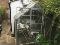 Glasshouse Greenhouse for sale - 2m x 1.25m
