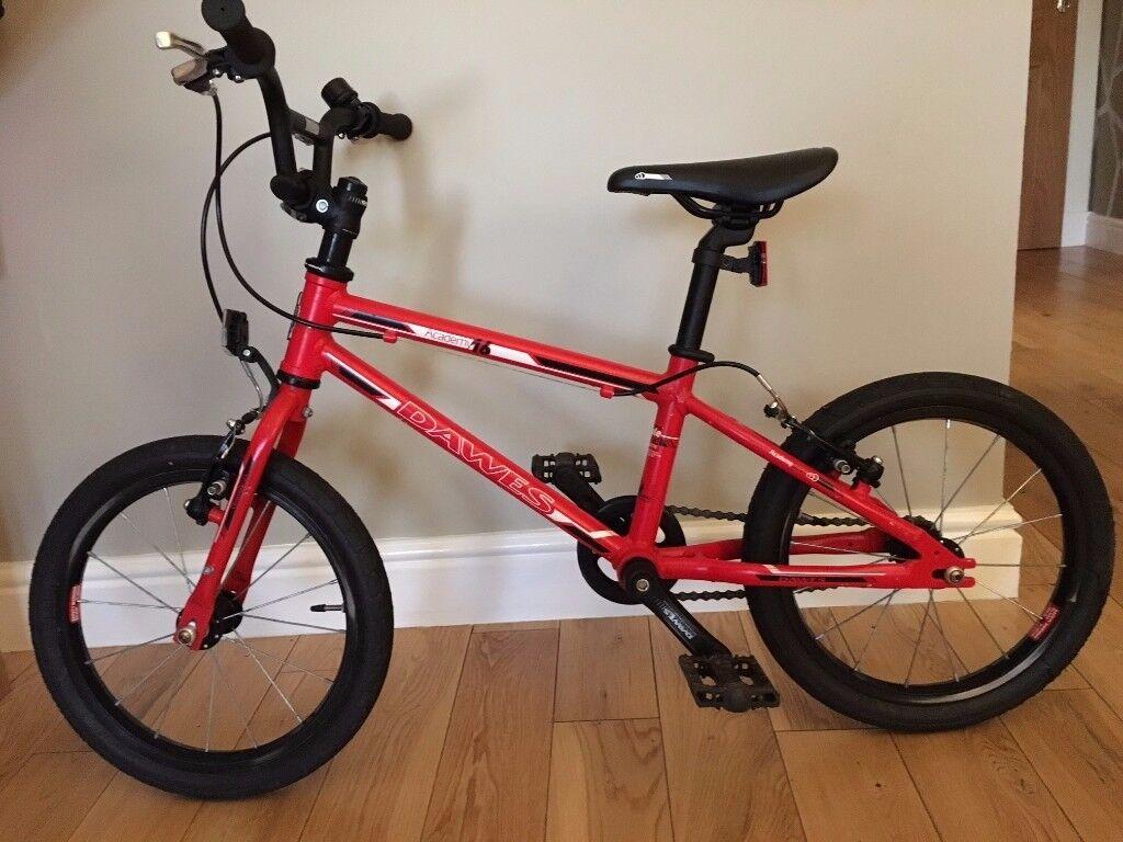 Dawes Academy 16 Inch Kids Red Unisex Bike