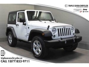 2015 Jeep Wrangler Sport LOW LOW KM!  Freedom TOP - AIR Conditio