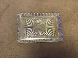 Vintage dressing table tray
