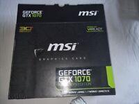 NVIDIA GeForce GTX 1070 8GB GDDR5 Graphics card