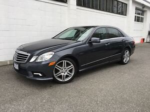 2010 Mercedes-Benz E-Class E350 4MATIC AMG Sport Package! No Acc