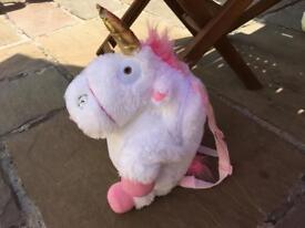 Unicorn backpack- from Minions