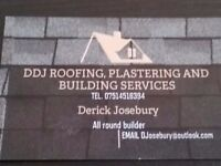 DDJ ROOFING,PLASTERING AN BUILDING SERVICES.