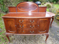 Large solid wood sideboard