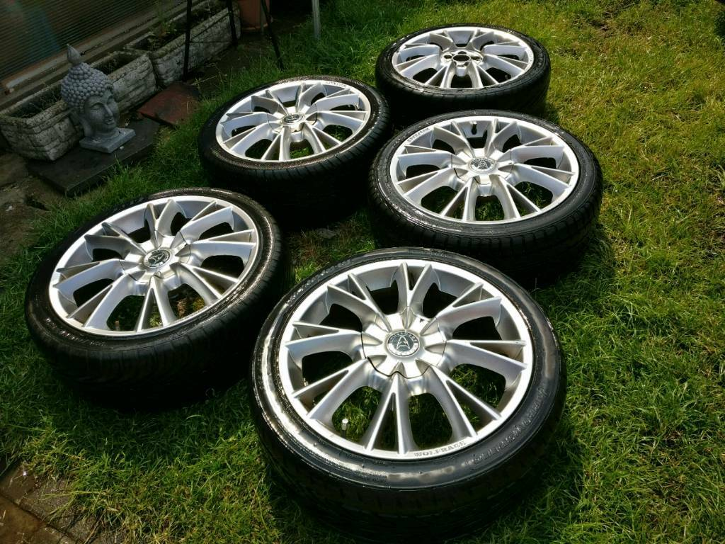 Wolfrace Alloy Wheels 18 inchea