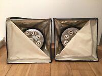 2x Bowens BW-3200 9-Lite inc Lamps