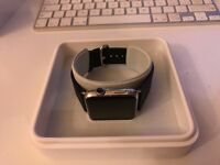 Apple Watch 42mm Case Stainless Steel Sapphire Crystal Retina Display *Excellent Condition*