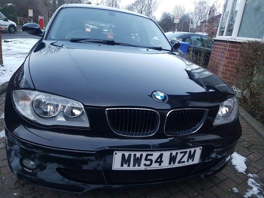 Black BMW 1 Series Fantastic Condition Abd Drive