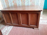 Wooden Chest / Ottoman