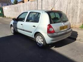 Renault Clio 1.4 petrol 07502418522