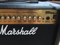 Marshall mg50dfx guitar amp