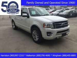 2017 Ford Expedition Max Limited   Moonroof   Heavy Duty Trailer