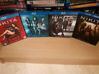 Nikita Seasons 1 to 4 Blu Ray