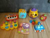 Baby/toddler toys £3 each (vtech, fisher price)