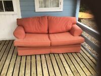 Small 2 seater sofa bed / used in good condition