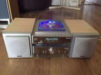 Hitachi CD Player, Aux, Blue Led