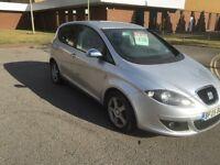 2005 seat Altea 1.6 reference sport 12 months mot/3months warranty