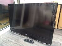 LG 37LH300 TV with remote and Wall Bracket