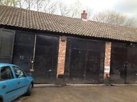 Car repairs/storage unit to let Rainhill