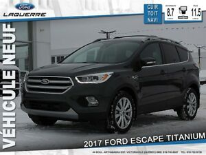 2017 Ford Escape Titanium*114$/Semaine* LF