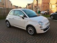 2014 FIAT 500 1.2 LOUNGE, 1 OWNER, FULL DEALER HISTORY, £20 TAX