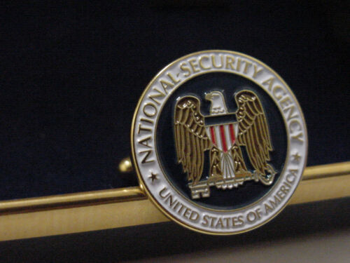 Pair presidential National Security AGENCY cufflinks   New  NSA