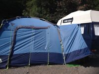 Khyam Drive Away Awning for Campervan. Quick Erect
