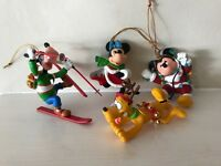 Disney and Grolier Christmas magic ornaments