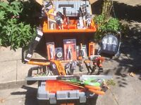 Brand New set of HOLDON TOOLS including two tool boxes